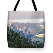 Yosemite Sunrise II Tote Bag