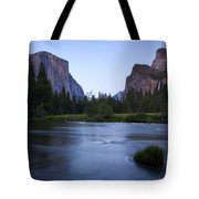 Yosemite Twilight Tote Bag