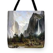Yosemite Valley, C1860 Tote Bag