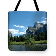 Yosemite Valley View X Tote Bag