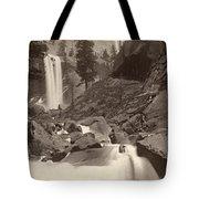 Yosemite: Vernal Fall Tote Bag