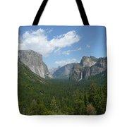 Yosemite's Inspiration Point Tote Bag