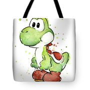 Yoshi Watercolor Tote Bag by Olga Shvartsur
