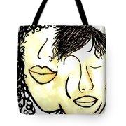 You And Me Sepia Tones Tote Bag