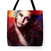You Are Looking At Me This Way Again Matilde. Tote Bag