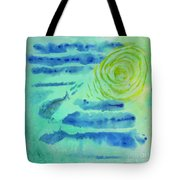 You Can't Save A Fish From Drowning Tote Bag