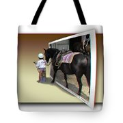 You Come With Me - Use Red-cyan 3d Glasses Tote Bag