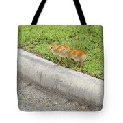 You First. No You Go First Tote Bag