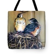 You Go First Tote Bag