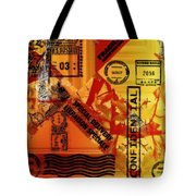 You Got Me Coming And Going Tote Bag