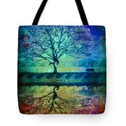 You Left Me Here Waiting Tote Bag