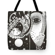 You Me The Stars And The Moon Tote Bag