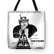 You Shall Be Obese By Fat Uncle Sam Tote Bag