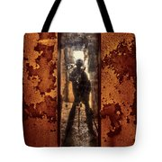 You Shot A Hole In My Soul Tote Bag