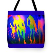 You Walked Into The Blue And Left Me Behind  Tote Bag
