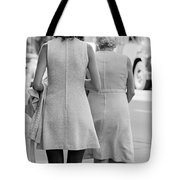 Young And Old Tote Bag by Mike Evangelist