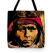 Young Apache Brave Tote Bag