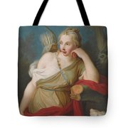 Young Archer Girl Tote Bag