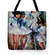 Young Ballerinas Tote Bag