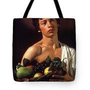 young boy Caravaggio Tote Bag