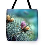 Young Cedar Tote Bag