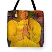 Young Christian Girl 1894 Tote Bag