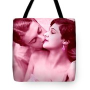 Young Couple In Love Tote Bag