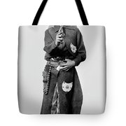 Young Cowboy Aims To Please Tote Bag
