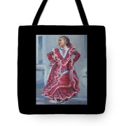 Young Dancer At Arneson Theater Tote Bag