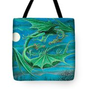 Young Dragons Frisk Tote Bag