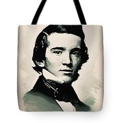 Young Faces From The Past Series By Adam Asar - Asar Studios, No 2 Tote Bag
