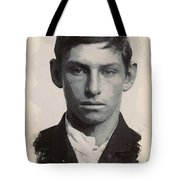 Young Faces From The Past Series By Adam Asar - Asar Studios, No 3 Tote Bag