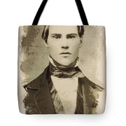 Young Faces From The Past Series By Adam Asar, No 101 Tote Bag