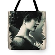 Young Faces From The Past Series By Adam Asar, No 103 Tote Bag