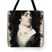 Young Faces From The Past Series By Adam Asar, No 107 Tote Bag