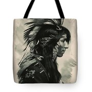 Young Faces From The Past Series By Adam Asar, No 108 Tote Bag