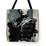 Young Faces From The Past Series By Adam Asar, No 111 Tote Bag