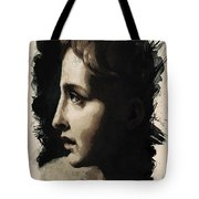Young Faces From The Past Series By Adam Asar, No 117 Tote Bag
