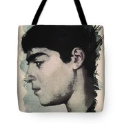 Young Faces From The Past Series By Adam Asar, No 14 Tote Bag