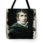 Young Faces From The Past Series By Adam Asar, No 22 Tote Bag