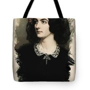 Young Faces From The Past Series By Adam Asar, No 23 Tote Bag