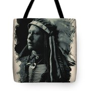 Young Faces From The Past Series By Adam Asar, No 26 Tote Bag