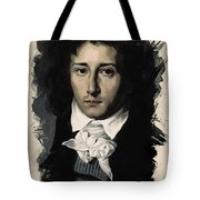 Young Faces From The Past Series By Adam Asar, No 27 Tote Bag