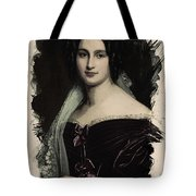 Young Faces From The Past Series By Adam Asar, No 28 Tote Bag