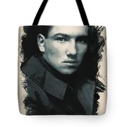 Young Faces From The Past Series By Adam Asar, No 33 Tote Bag
