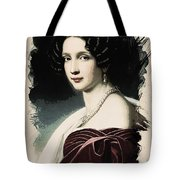 Young Faces From The Past Series By Adam Asar, No 37 Tote Bag