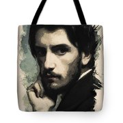 Young Faces From The Past Series By Adam Asar, No 43 Tote Bag