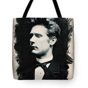 Young Faces From The Past Series By Adam Asar, No 44 Tote Bag