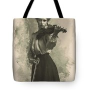 Young Faces From The Past Series By Adam Asar, No 47 Tote Bag