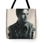 Young Faces From The Past Series By Adam Asar, No 52 Tote Bag